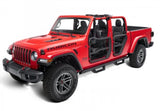 11509.13 Rugged Ridge Fortis Tube Doors, Gladiator, Wrangler installed