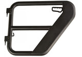 11509.13 Rugged Ridge Fortis Tube Doors, Gladiator, Wrangler rear