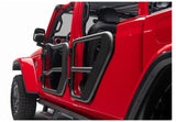 11509.13 Rugged Ridge Fortis Tube Doors, Gladiator, Wrangler installed rear