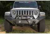 11548.41 Rugged Ridge Spartan Front Bumper with High Clearance Ends and Overrider, Gladiator, Wrangler Installed