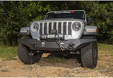 11548.43 Rugged Ridge Spartan Front Bumper with Standard Ends, Gladiator, Wrangler Installed