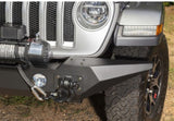 11548.43 Rugged Ridge Spartan Front Bumper with Standard Ends, Gladiator, Wrangler Side