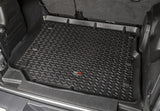 12975.49 Rugged Ridge Jeep All Terrain Cargo Liner, Short, Black, 4-Door, Wrangler installed
