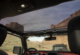 13579.73 Rugged Ridge Hard Top Front Eclipse Sun Shade, Black, Gladiator, Wrangler, 4 Door Inside