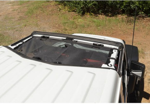 13579.73 Rugged Ridge Hard Top Front Eclipse Sun Shade, Black, Gladiator, Wrangler, 4 Door Top