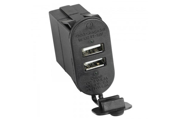 17235.16 Dual USB Port With Qi capabilities 3.0, Gladiator, Wrangler