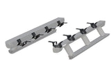 3047975 ARIES ActionTrac Powered Running Boards, Gladiator brackets