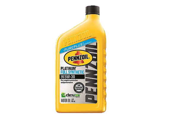 05166241PC Penzoil 5W-30 Jeep Engine Oil, 1 Quart Bottle, Wrangler, 2.0L IL4