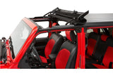 5245235 Bestop Black Diamond Sunrider For Hardtop, Gladiator, Wrangler Open
