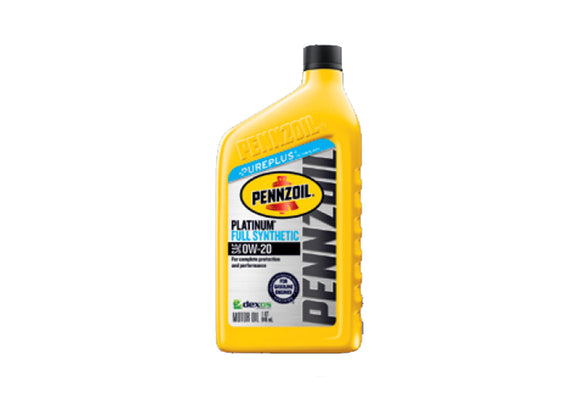 68152004PC Penzoil 0W-20 Full Synthetic Jeep Engine Oil, Gladiator, Wrangler, 3.6L