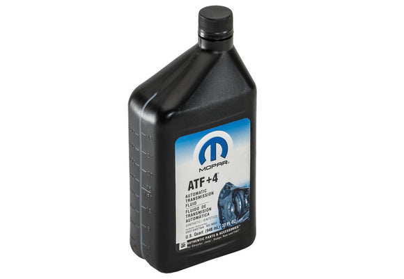 Jeep Mopar ATF+4 Manual Transmission, Transfer Case Fluid, 1 quart bottle, 2020 Gladiator JT, 2018-2020 Wrangler JL