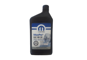 68441882AA Jeep Mopar 5W-30 Engine Oil, 1 Quart Bottle, Wrangler, 2.0L IL4