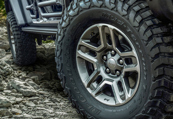 Jeep Mopar 17 Inch Off Road Wheel, 2020 Gladiator JT, 2018-2020 Wrangler JL