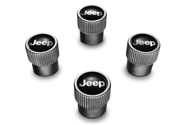 82213628AB Genuine Jeep Vale Stem Caps