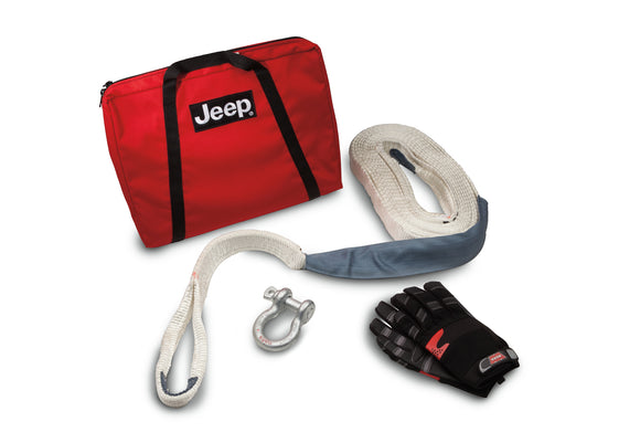 82213901AB Jeep Mopar Trail Rated Winch Accessory Kit, Gladiator, Wrangler