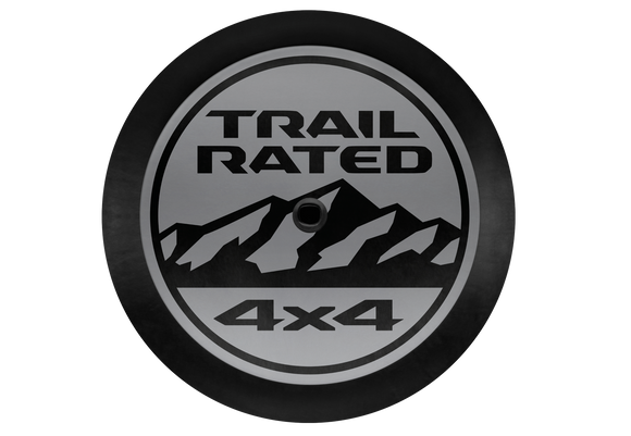 82215438 Jeep Mopar Trail Rated Logo Tire Cover, 2018-2019 Wrangler