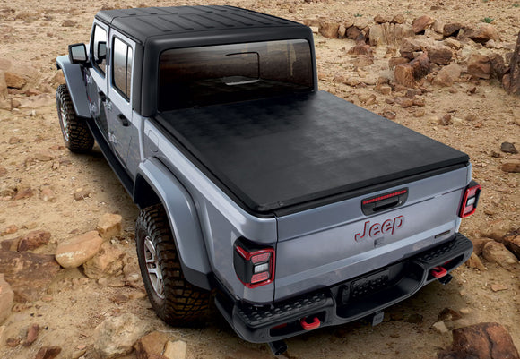 82215615 Genuine Jeep Soft Tri-Fold Tonneau Cover, Gladiator