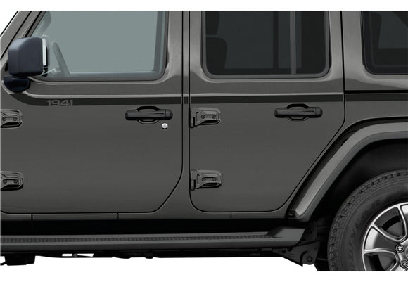 82215731 Jeep Mopar 1941 Swoosh Bodyside Graphic, Wrangler 4 Door