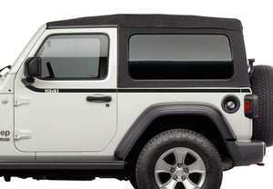 82215733 Jeep Mopar 1941 Swoosh Bodyside Graphic, Wrangler 2 Door