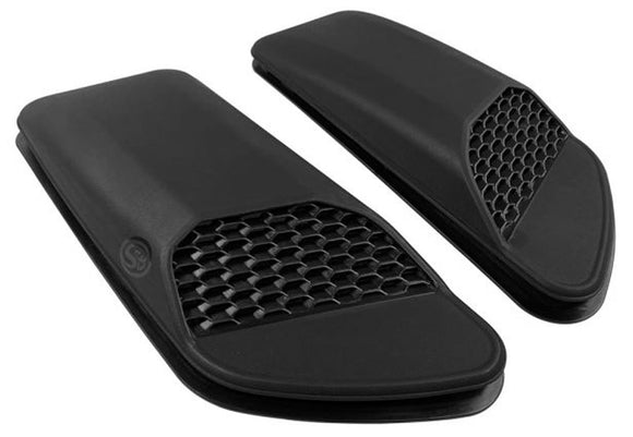 AS-1014 S&B Filters Rubicon Air Hood Scoops, Gladiator, Wrangler