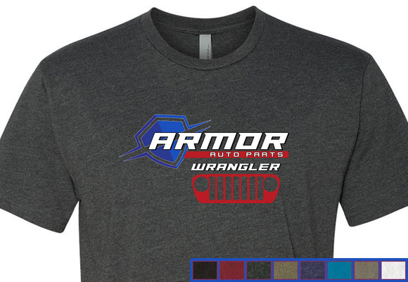 Armor Auto Parts Wrangler Grill 60/40 T-Shirt