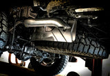 S5537304 MBRP Jeep 2.5 Inch Cat Back Single Exhaust, Gladiator, Engine 3.6L V6 Installed