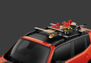 TCS92725 Jeep Mopar Ski and Snowboard Carrier, Wrangler