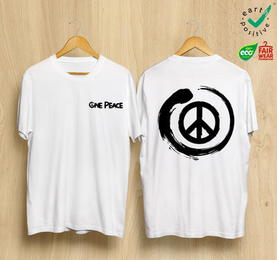 ☮ Camiseta Unisex ONE PEACE