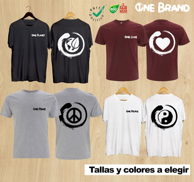 👕👕👕👕Pack 4xCAMISETAS Colección ONE BRAND 👕👕👕👕