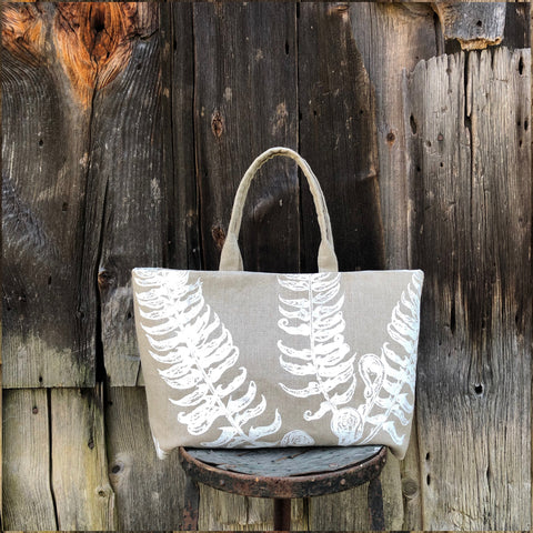The Agnes Modern Tote No. 1 | Fern + Fiddlehead