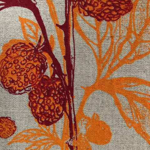 Golden Raspberry + Plum Tea Towel