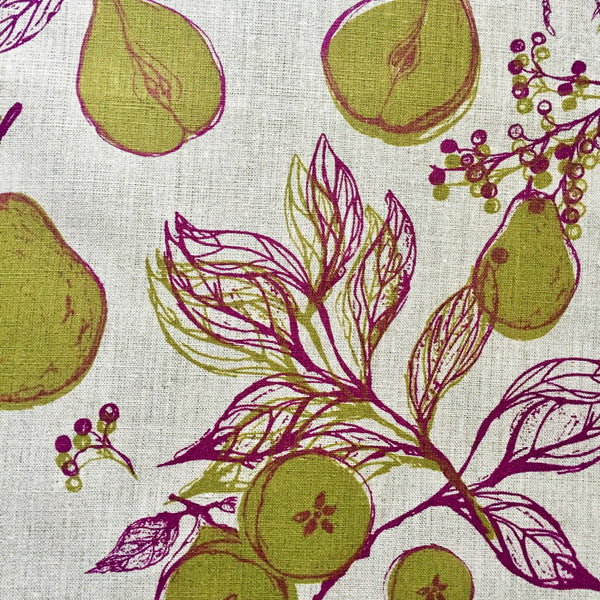 Pear + Elderberry Napkins (set of four)