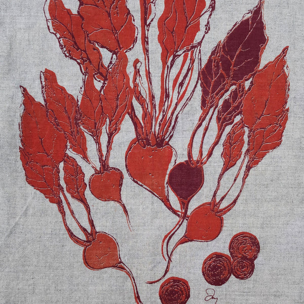 Beet Napkins (set of four)