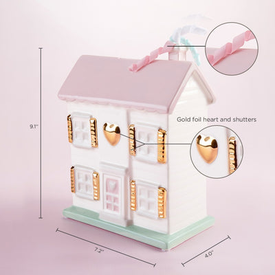 Porcelain Dollhouse Bank