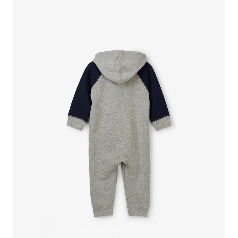 Dino-Myte Hooded Romper