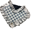Navy Steel Plaid Cuddle Lovie