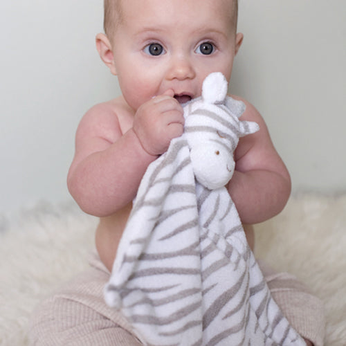 Angel Dear Grey Zebra Safari Animal Blankie Baby Gift Tadpoles & Tiddlers Cleveland Bath Akron Ohio