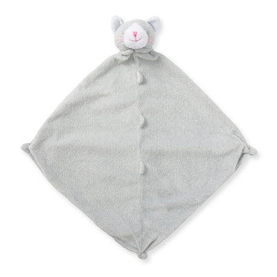 Angel Dear Grey Kitten Kitty Cat Baby Blankie