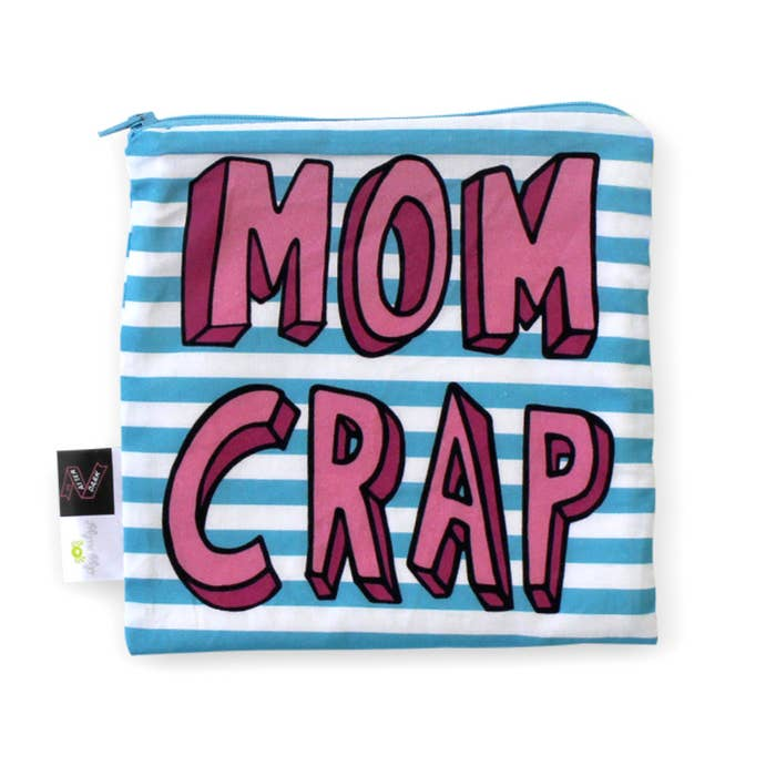 Mom Crap Storage Pouch