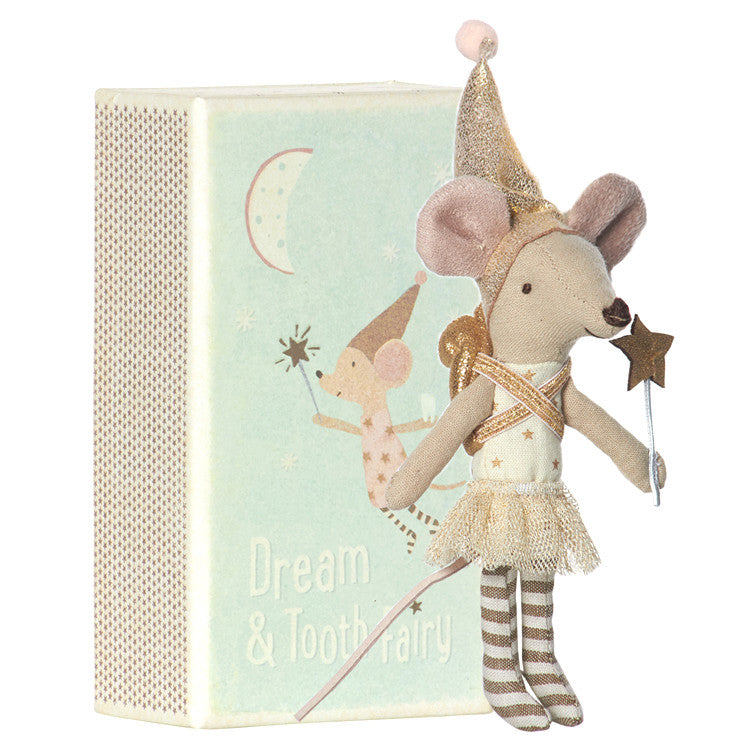 Tooth Fairy Matchbox Mouse Toy Doll