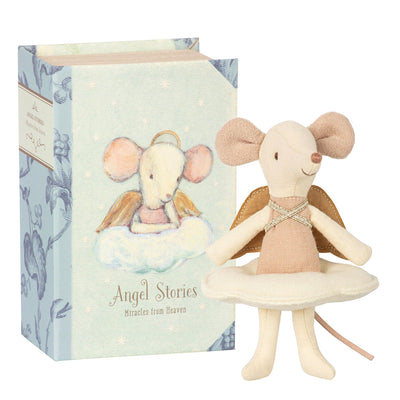 Maileg Angel Mouse Cloud Book Box Doll Tadpoles & Tiddlers Bath Akron Cleveland Ohio