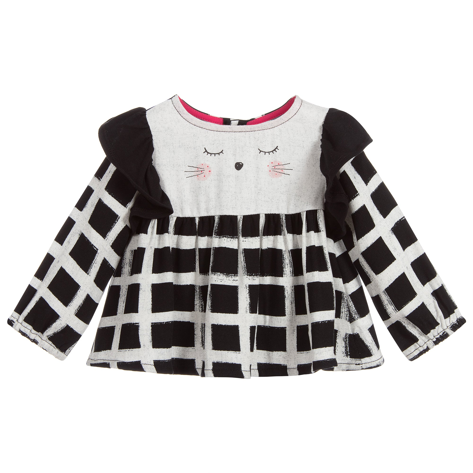 Frilly Feline Tunic
