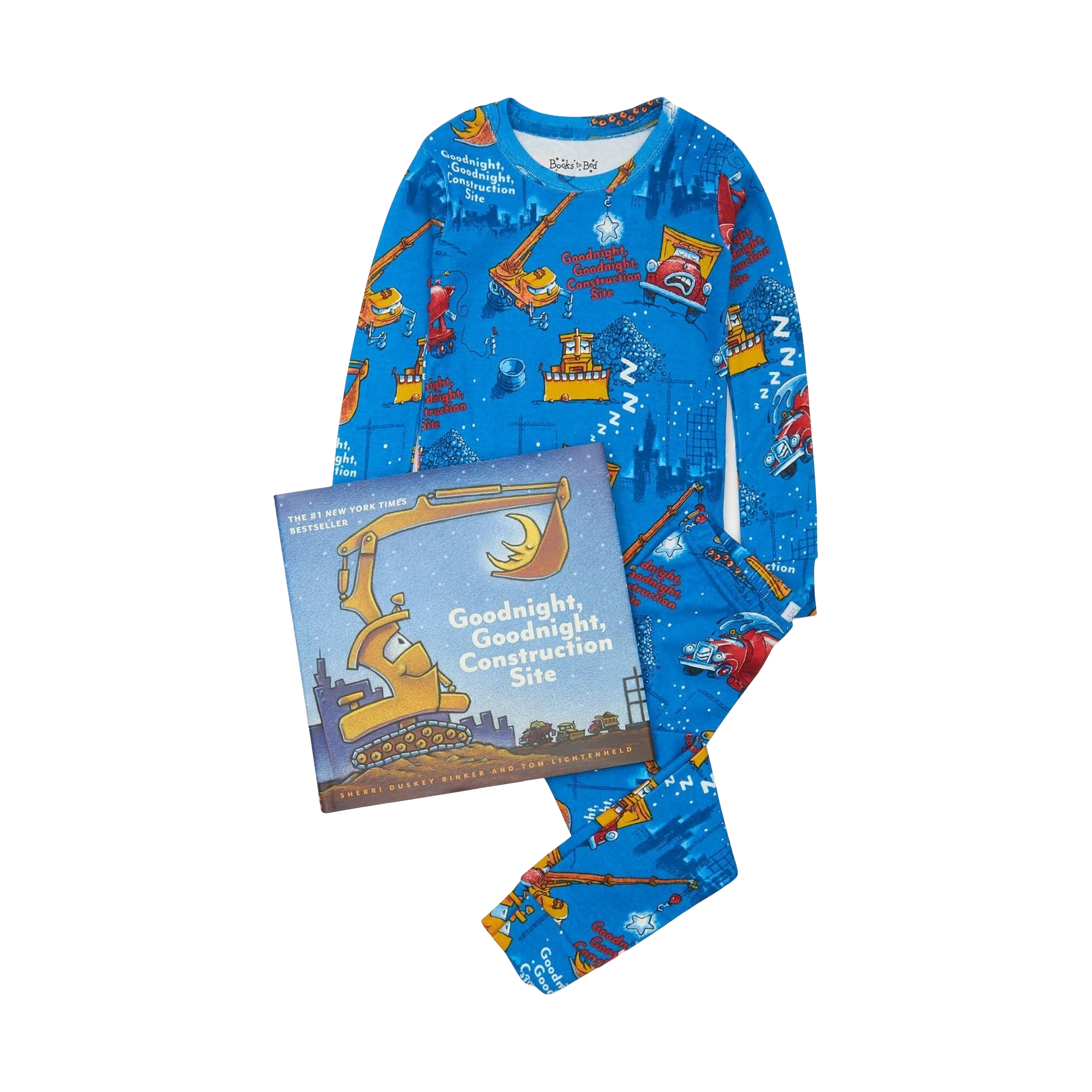 """Goodnight Construction Site"" Pajama & Book Set"