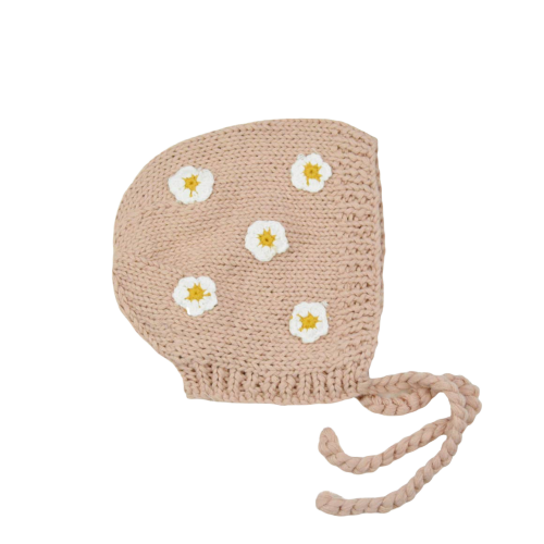 April Cotton Flower Bonnet