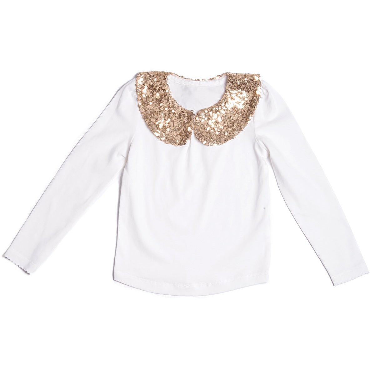 Sparkle Collar Top