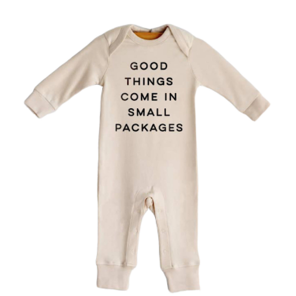 Small Packages Organic Romper