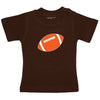 Short Sleeve Tee - CLE Browns - Brown