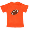 Orange Football Tee T Shirt Cleveland Browns Baby Toddler Tadpoles & Tiddlers Cleveland Bath Akron Ohio