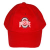 Creative Knitwear Red Baseball Cap OSU Ohio State University College Football Hat Baby Newborn Infant Toddler Tadpoles & Tiddlers Bath Akron Cleveland Ohio