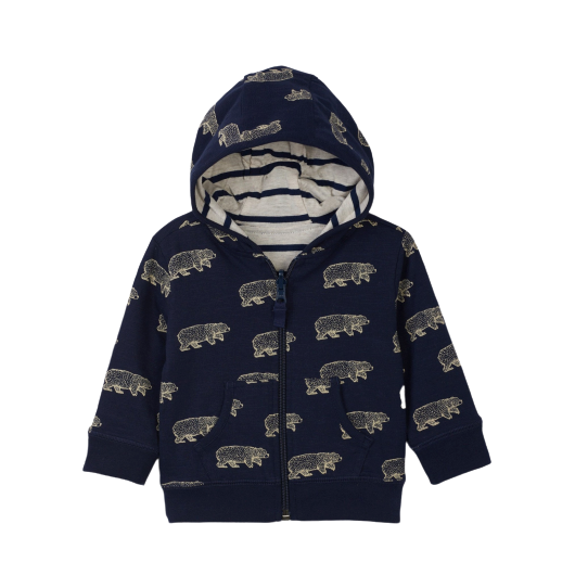 Band of Bears Reversible Hoodie